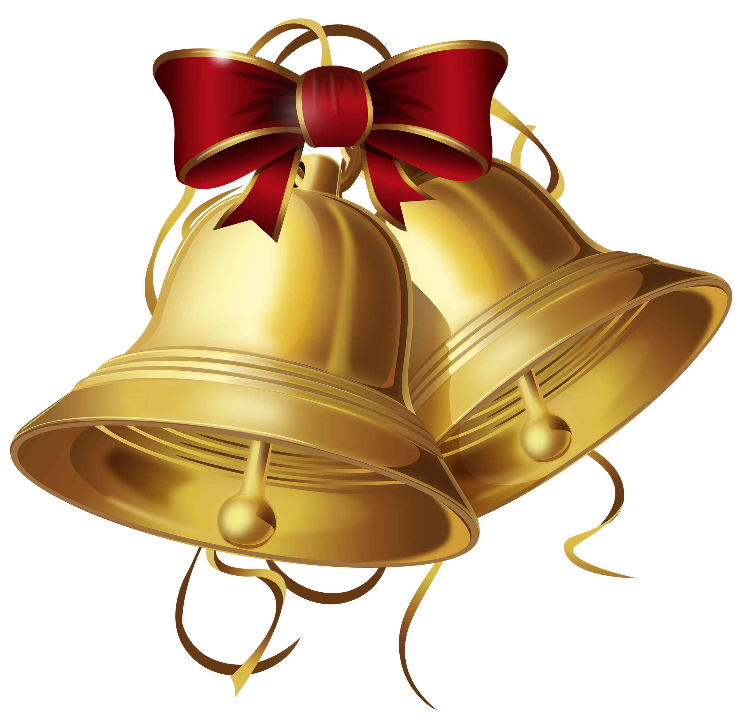 Christmas Bells PNG Clipart.