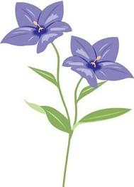 Blue Bell Flower Clip Art Download 1,000 clip arts (Page 1.