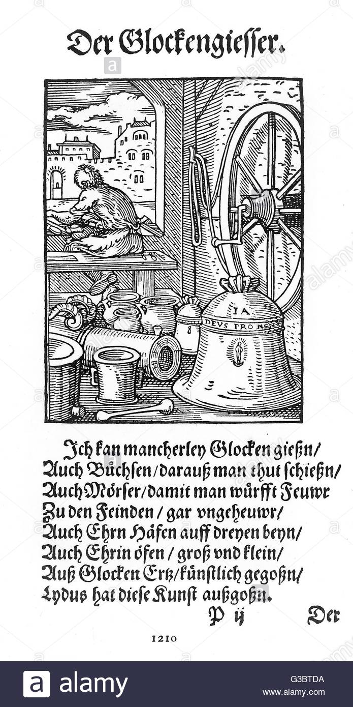 The Interior Of A 16th Century German Bell Foundry Stock Photo.