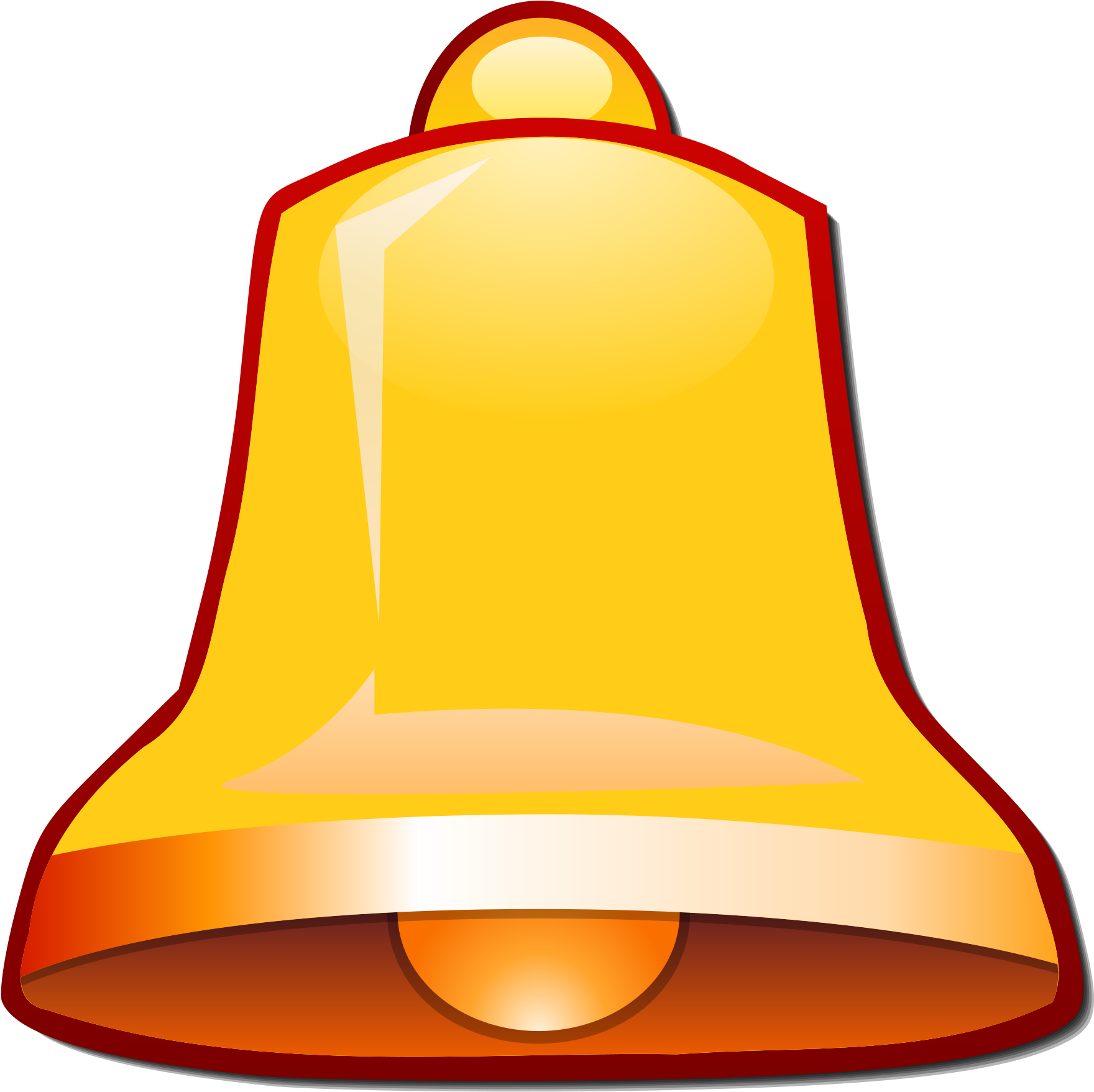 YouTube Bell Icon PNG Transparent Image.