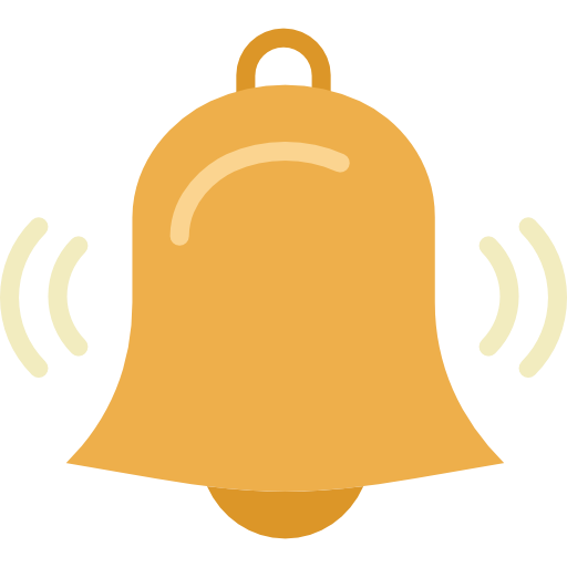 Alert Bell Icon Png Vector, Clipart, PSD.