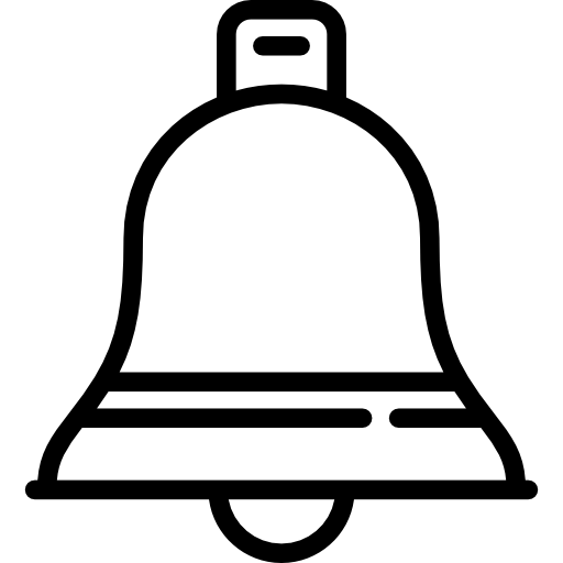 Church bell Icons.