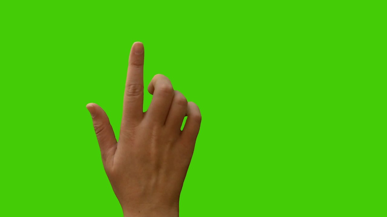 GREEN SCREEN HAND FOR BELL ICON INTRO NO WATERMARK.