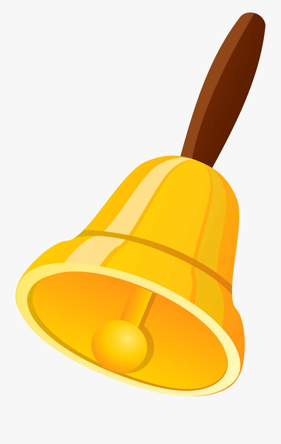 Transparent Hand Bell Clipart.