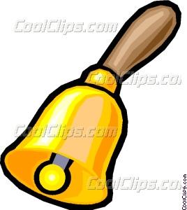 school bell Vector Clip art.