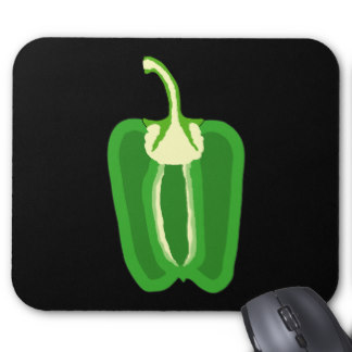 Bell Peppers Mouse Pads.