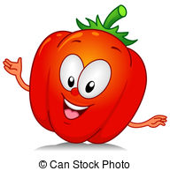 Bell pepper Illustrations and Clip Art. 2,144 Bell pepper royalty.