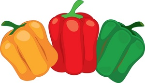 Sweet pepper clipart #4
