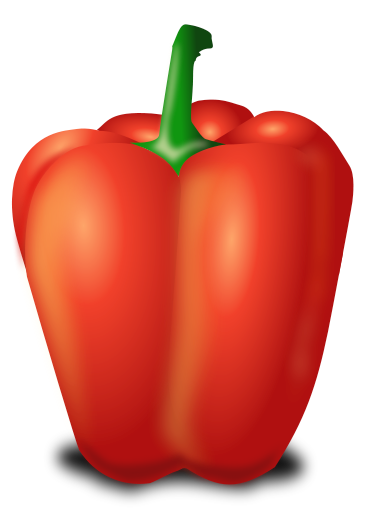 Free Bell Pepper Clipart, 1 page of Public Domain Clip Art.