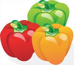 Free Bell Pepper Plants Clipart.