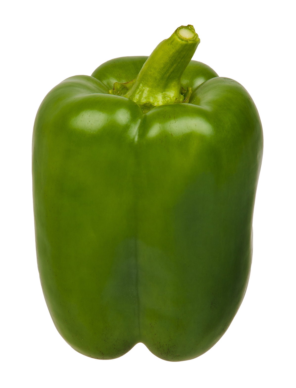 Green Bell Pepper PNG Image.
