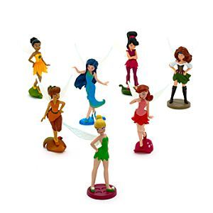 Disney Tinker Bell and the Pirate Fairy Figurine Playset.