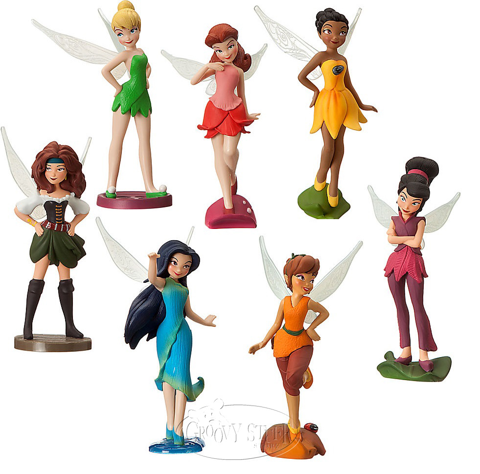 Disney Fairies The Pirate Fairy Tinker Bell Figurine Playset Toy.