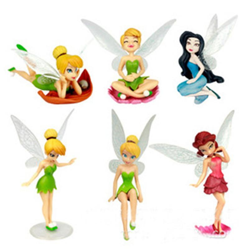 Tinker Bell Figure Tinkerbell Fairy Adorable Action Figures Retail.