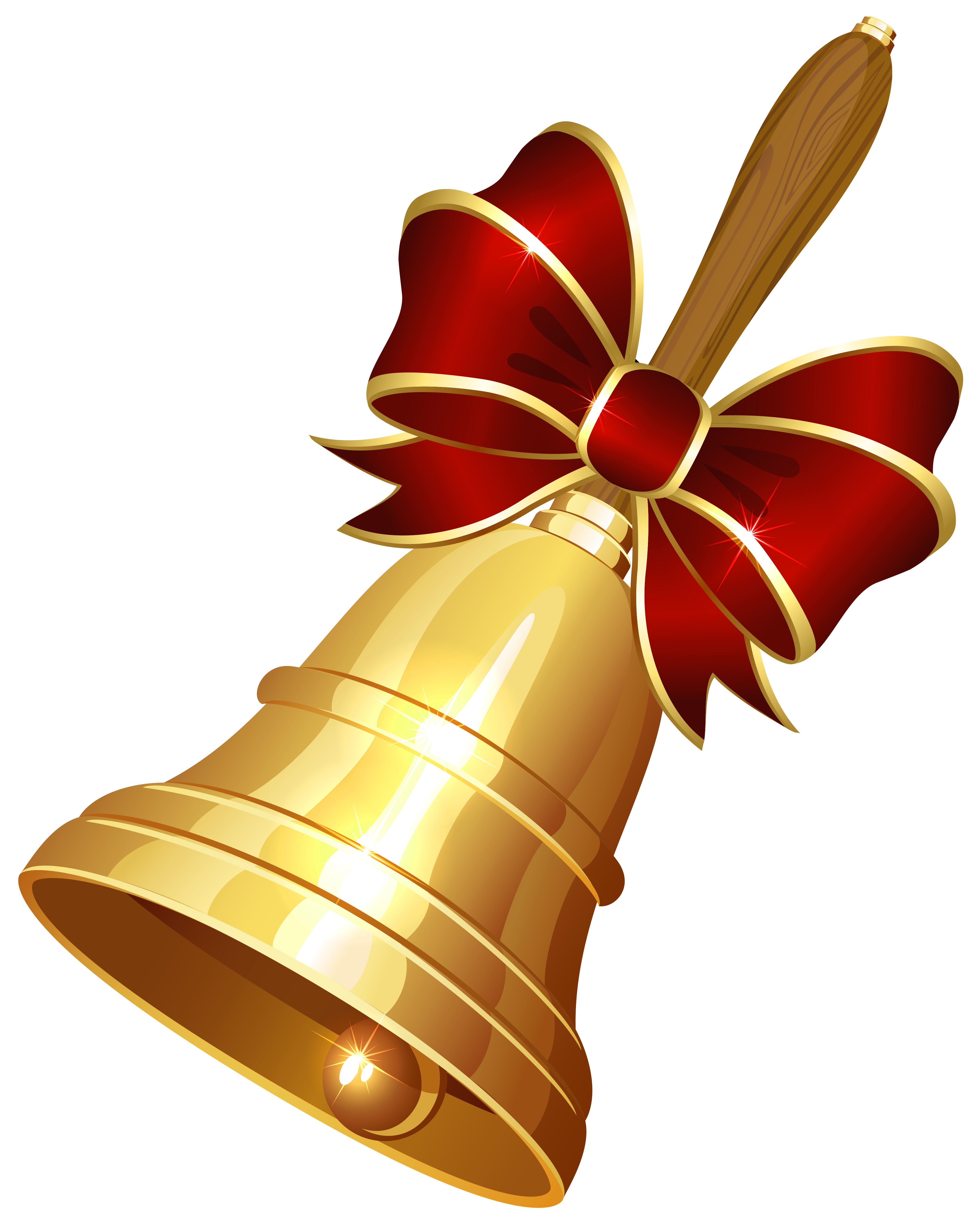 Download Christmas Bell PNG Pic.