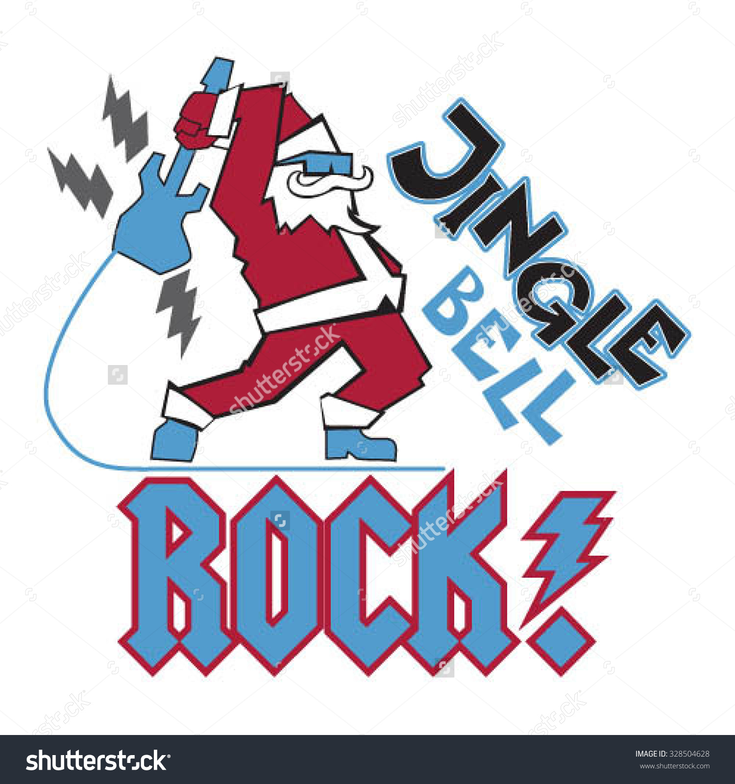 Jingle Bell Rock Smash Stock Vector Illustration 328504628.