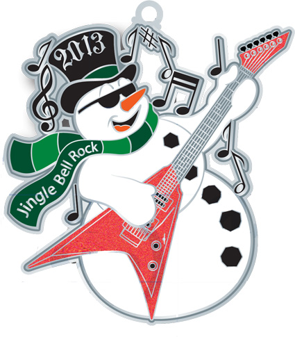 The Jingle Bell Rock Virtual Run.