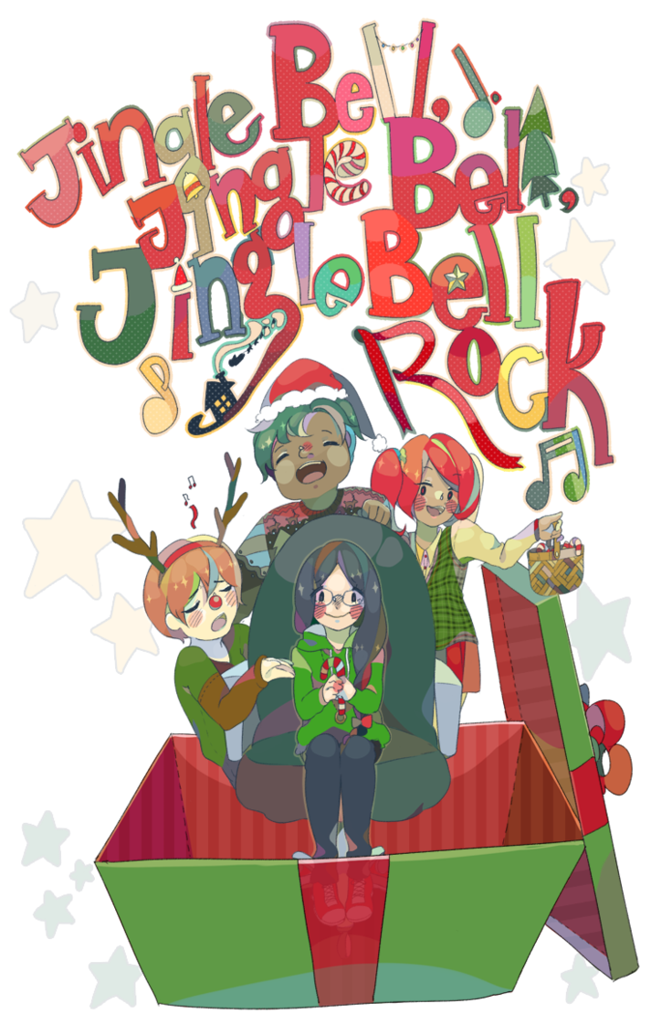 Jingle Bell rock by Purikyu on DeviantArt.