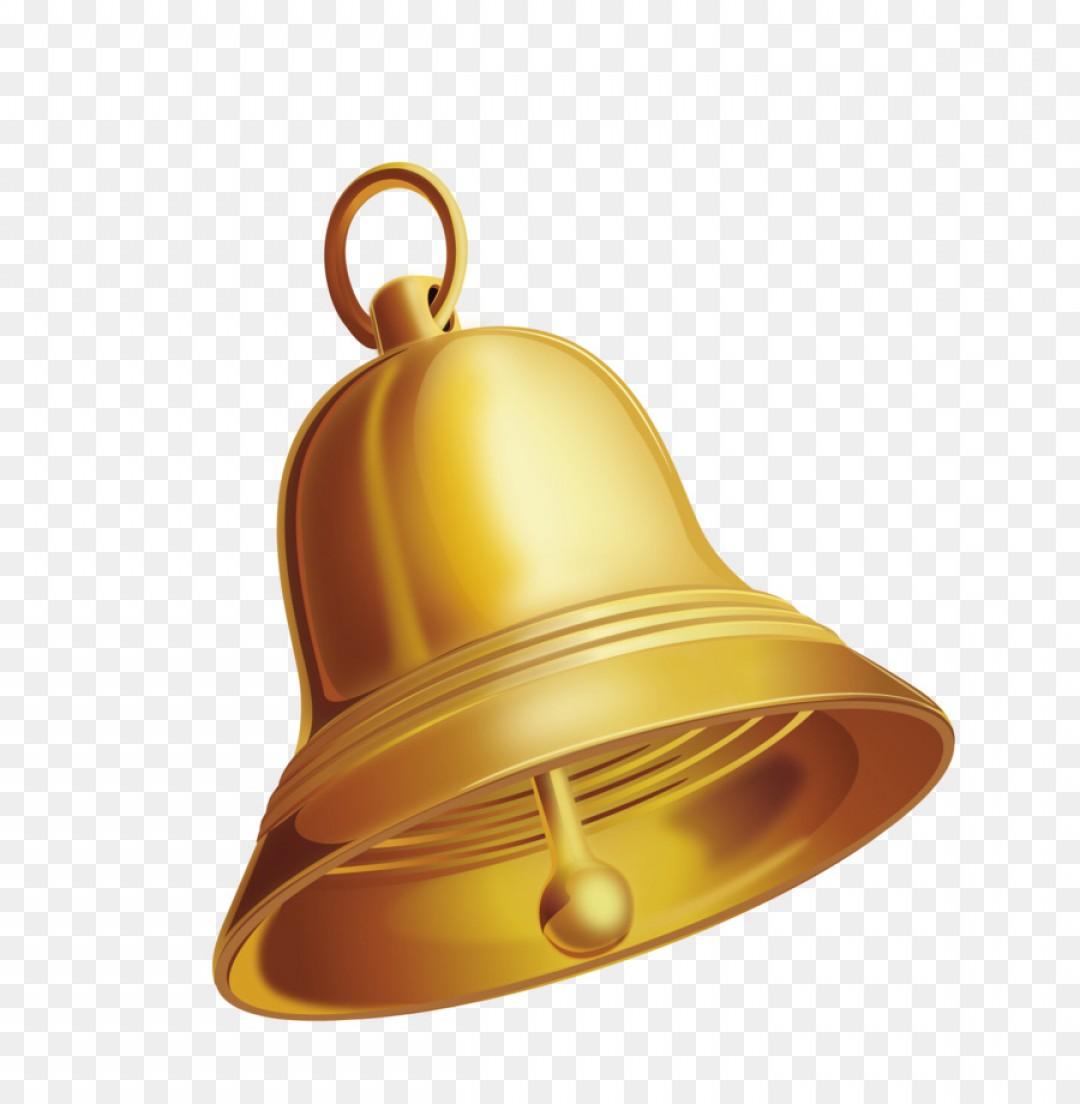 Vector Gold Bell.