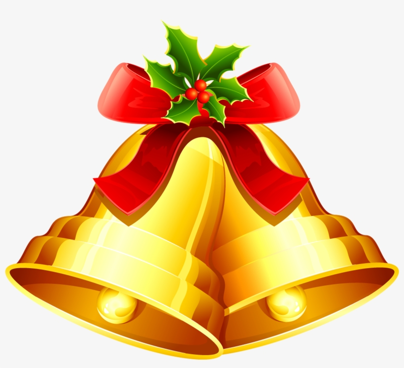 Christmas Bell Vector Png.