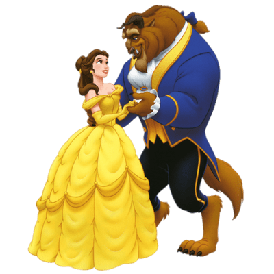 Beauty and the Beast transparent PNG images.