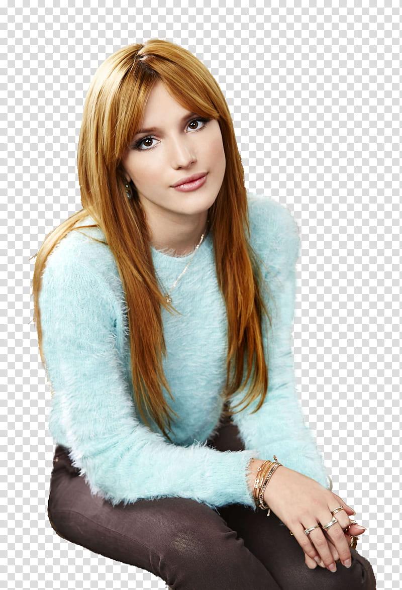 Bella Thorne HD transparent background PNG clipart.