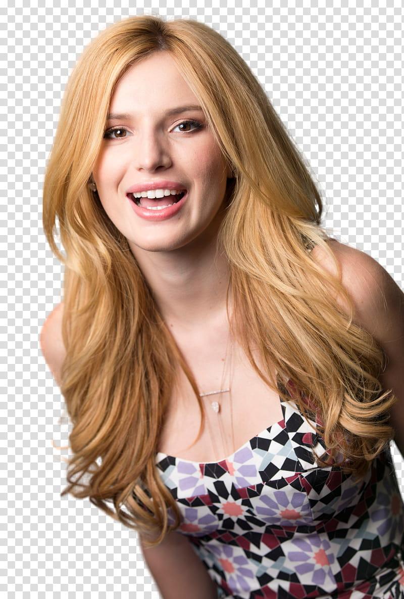 Bella Thorne transparent background PNG clipart.