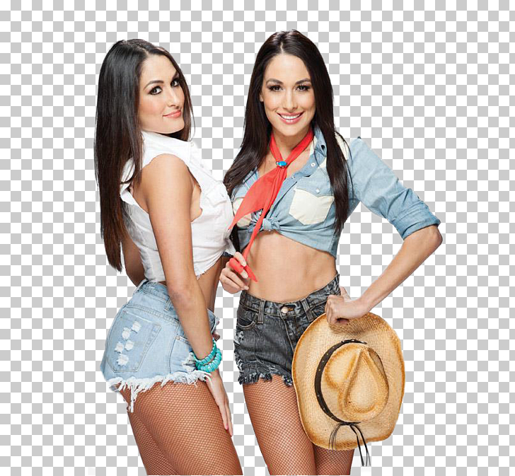 The Bella Twins Women in WWE, Twins Free PNG clipart.