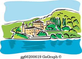 Bellagio Clip Art.