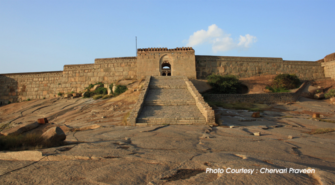 Bellary Fort, Karnataka, Forts in India, Forts in Karnataka.