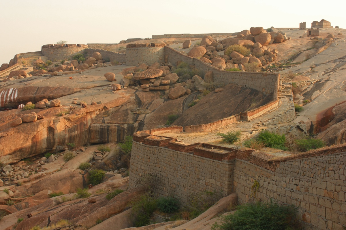 Journeys across Karnataka: Bellary fort.