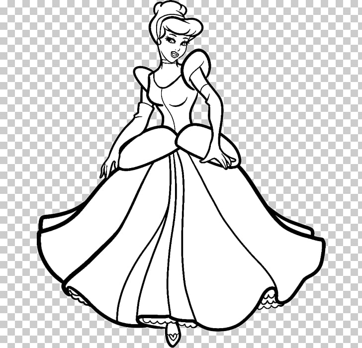 Cinderella Belle Fa Mulan Disney Princess Drawing.
