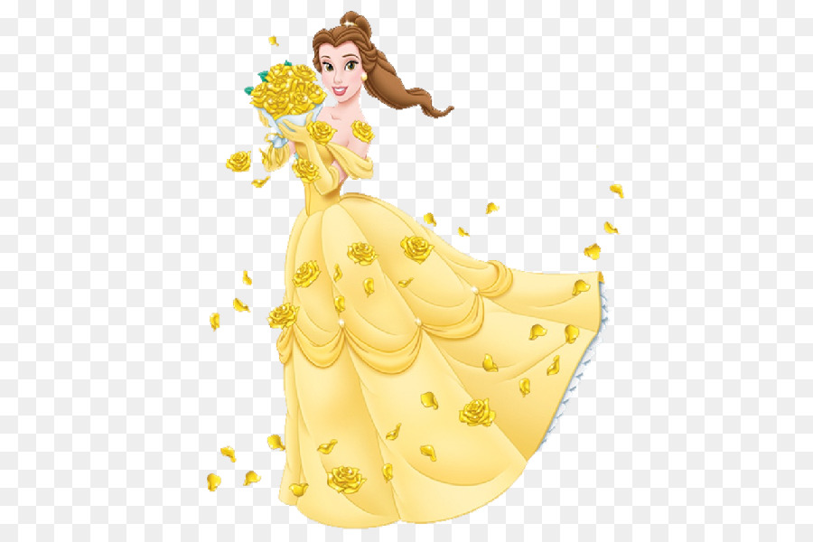 Belle, Yellow, Design, transparent png image & clipart free download.
