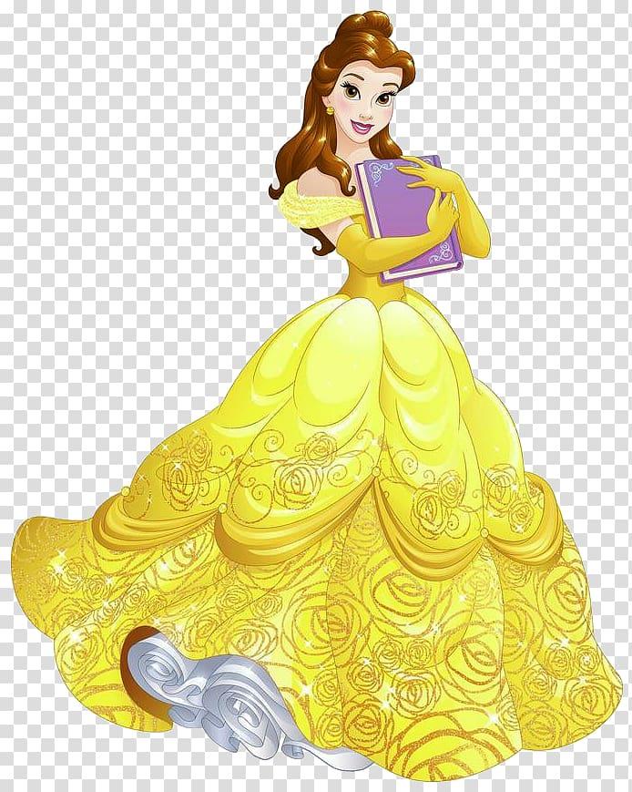 Belle Rapunzel Ariel Beast Disney Princess, belle transparent.
