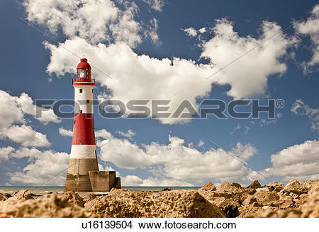 Stock Photo of England, East Sussex, Beachy Head. Beachy Head.