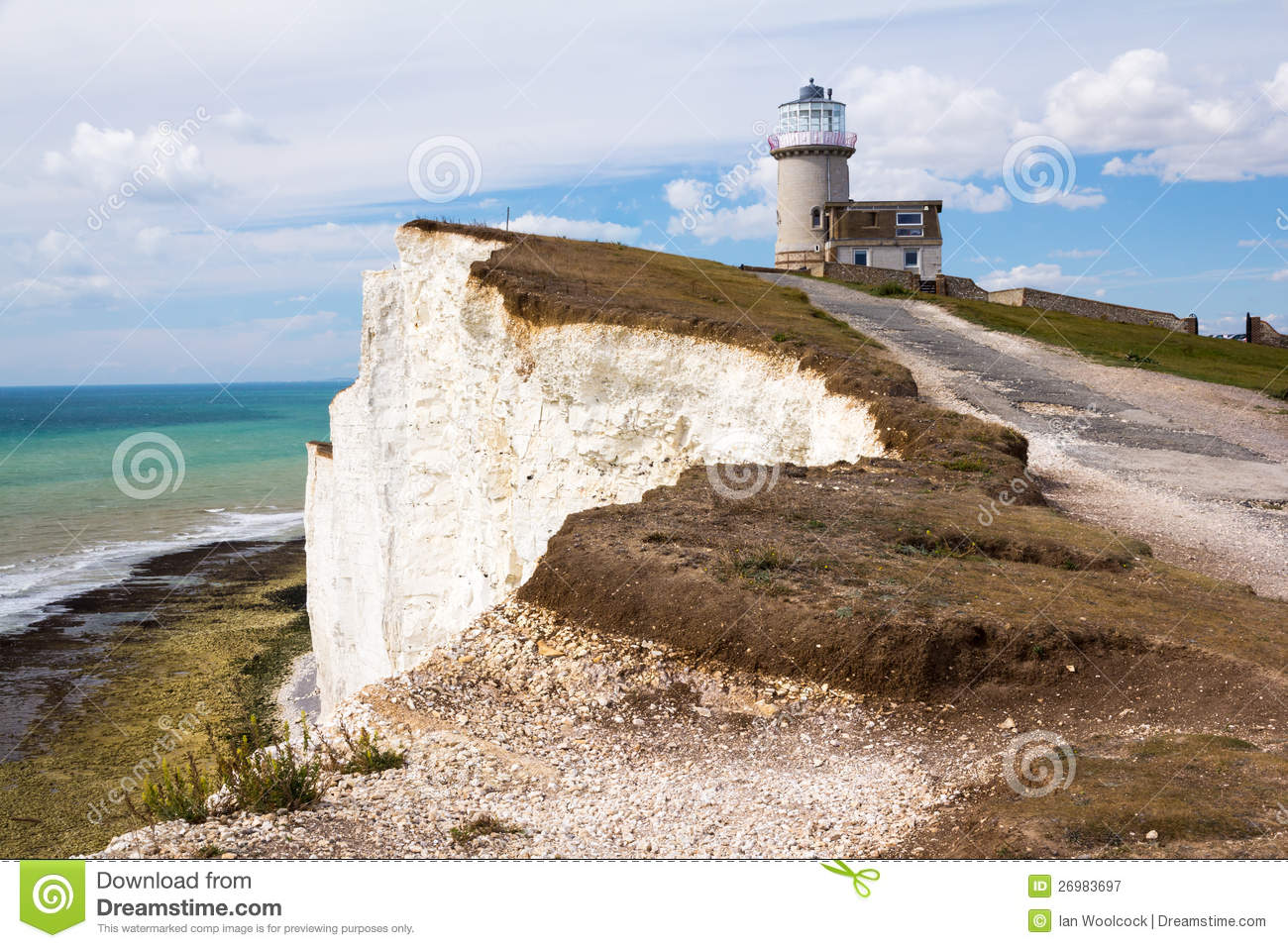 Belle Tout Lighthouse Royalty Free Stock Photography.