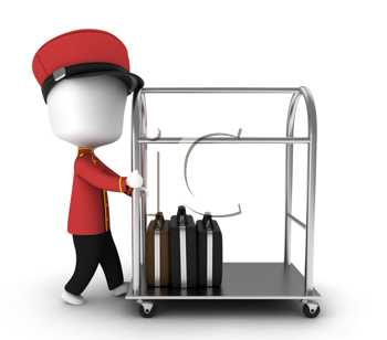 Bellhop clipart images and royalty.