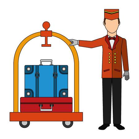 1,145 Bellhop Stock Vector Illustration And Royalty Free Bellhop Clipart.