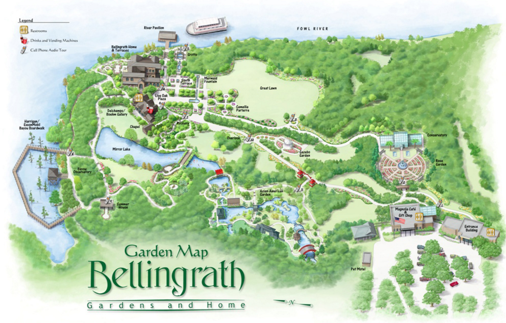 Wonderful Wednesdays in July at Bellingrath Gardens and Home.