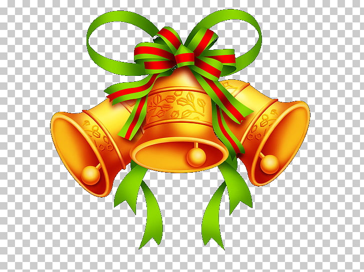 Jingle Bells Christmas , bell PNG clipart.