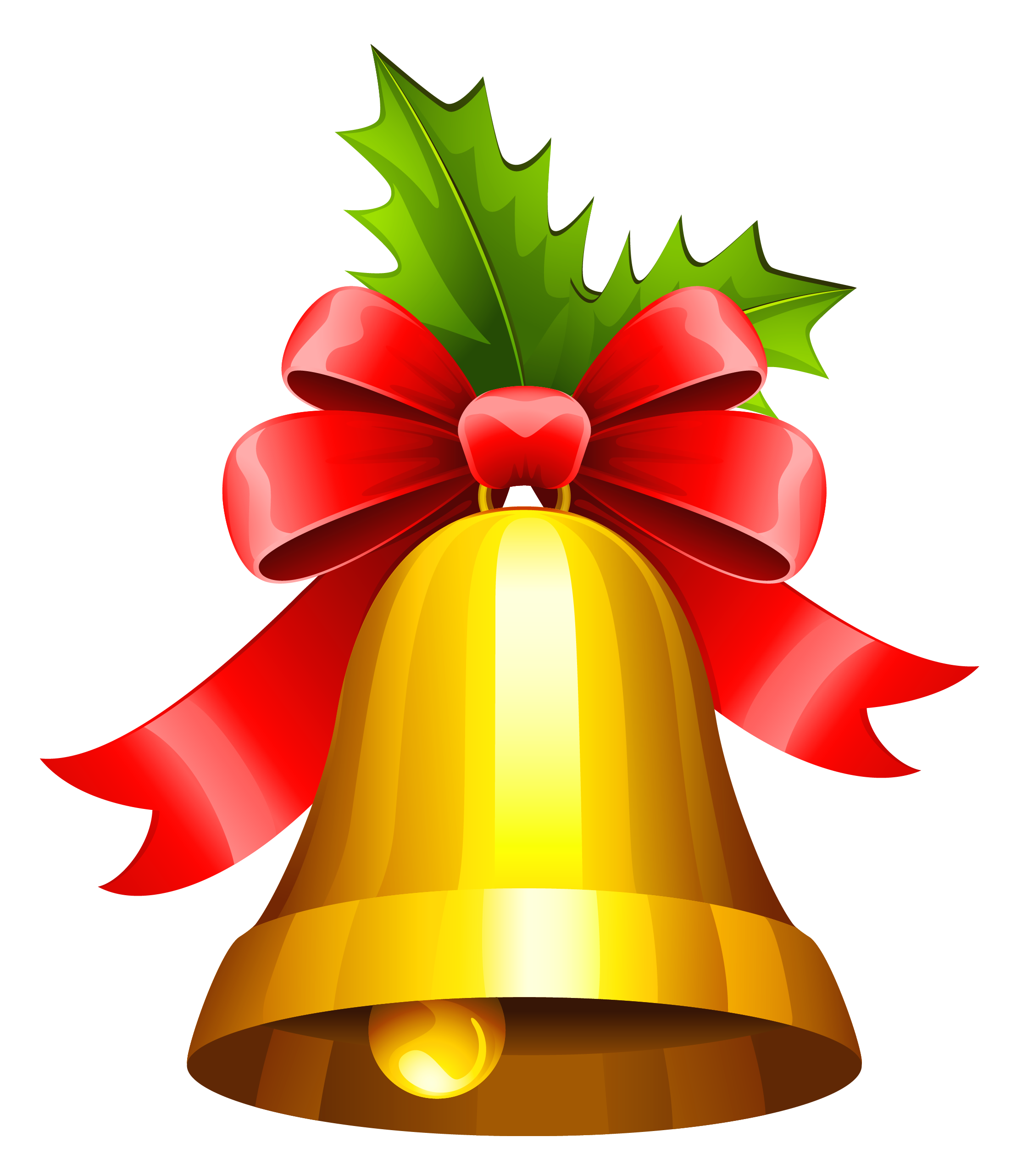Clip art pictures christmas bells.