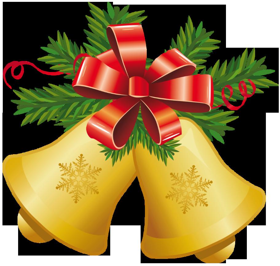 Christmas bells clip art.