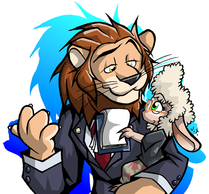 DeviantArt: More Like Bellwether and mayor lionheart by nycolys.
