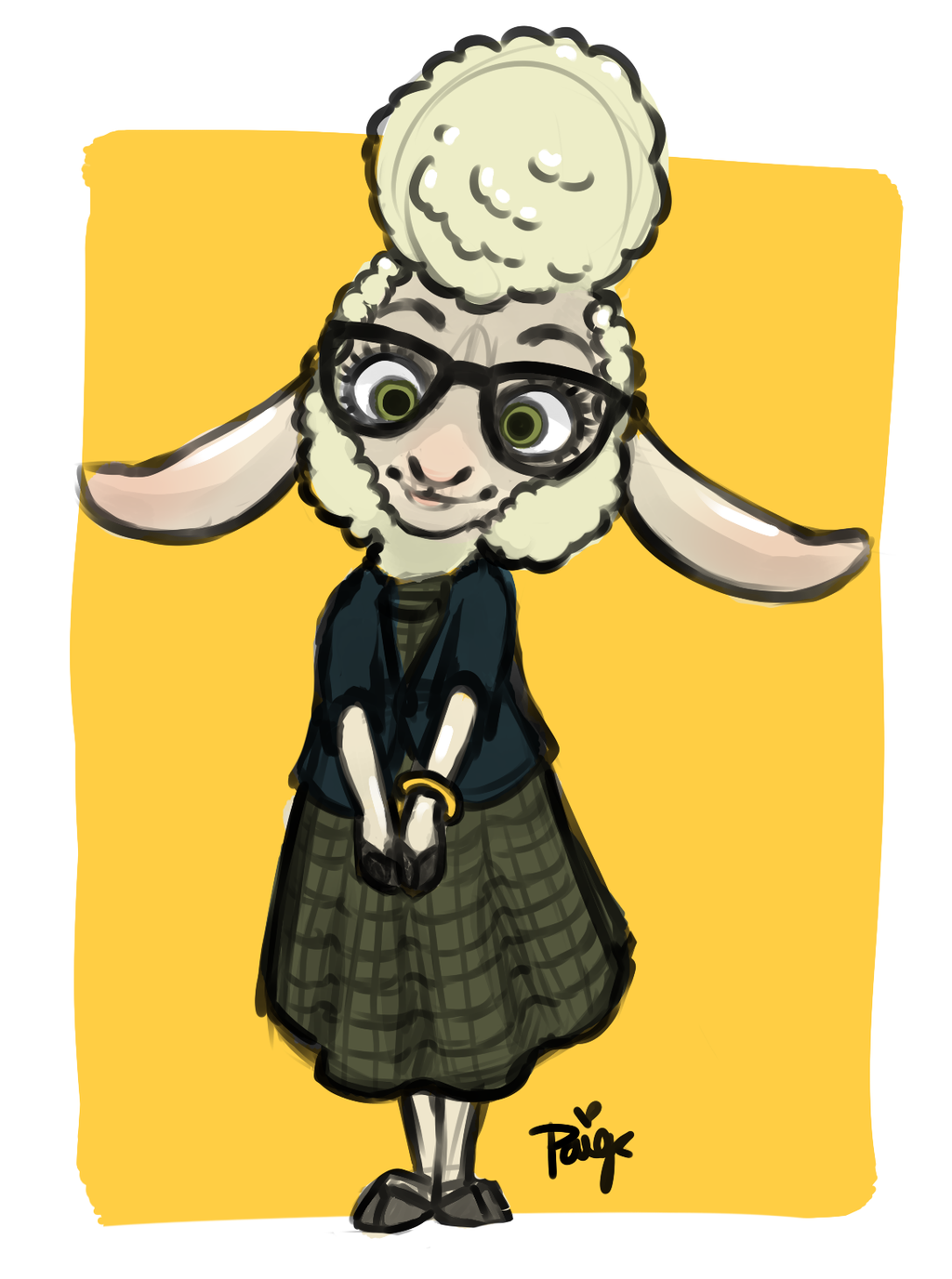 Assistant Bellwether by SanzaOmega on DeviantArt.