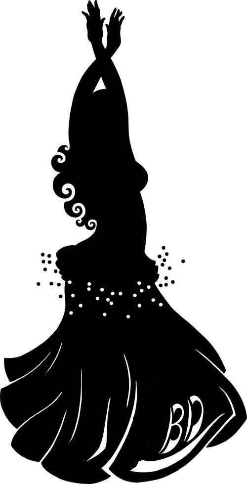 Belly Dance Clipart.