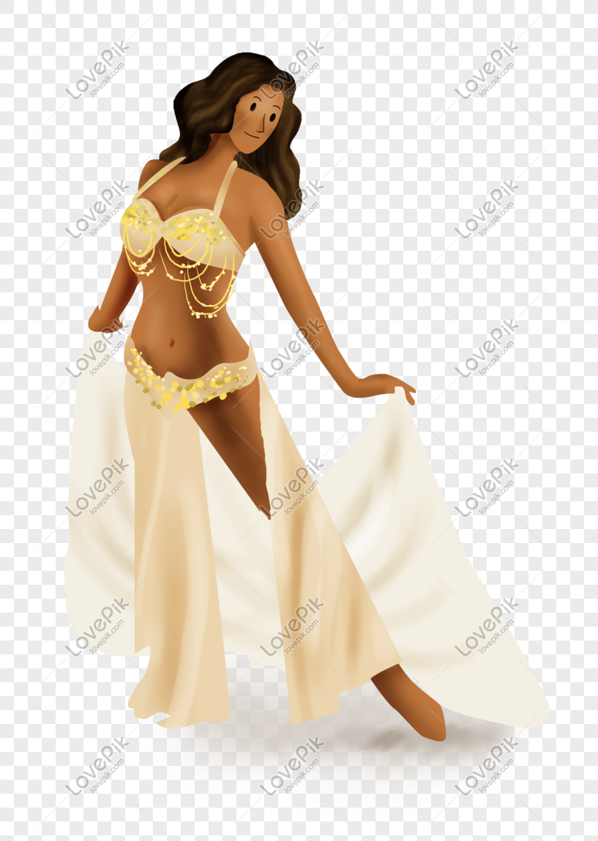 Dance class belly dance foreigner png image_picture free download.