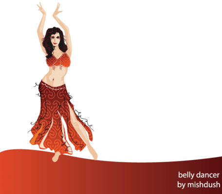 Free Belly Dancer Free Clipart and Vector Graphics.