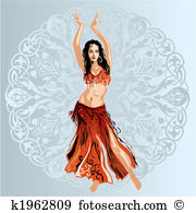 Belly dancing Clip Art Illustrations. 568 belly dancing clipart.