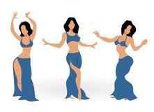 Belly Dance Stock Illustrations.