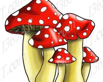 mushroom clipart.